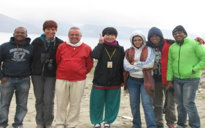 From L-R,Nikhil, Natasha, Alfredo, Korean Girl, Nehal, Chanak & Mudit