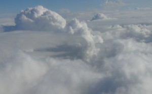 Clouds from plane 5