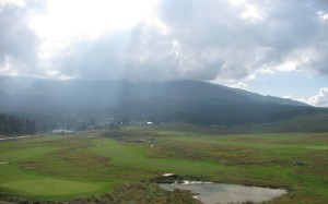 Scenic view of Gulmarg Golf Course during our walk from Gandola to taxi stand 2
