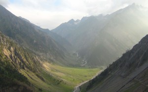 View from Zojila Pass 1