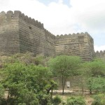 Uperkot Fort Wall
