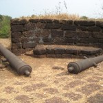 Cabo De Rama Fort Cannons